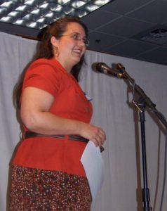 Photo of Larina Speaking